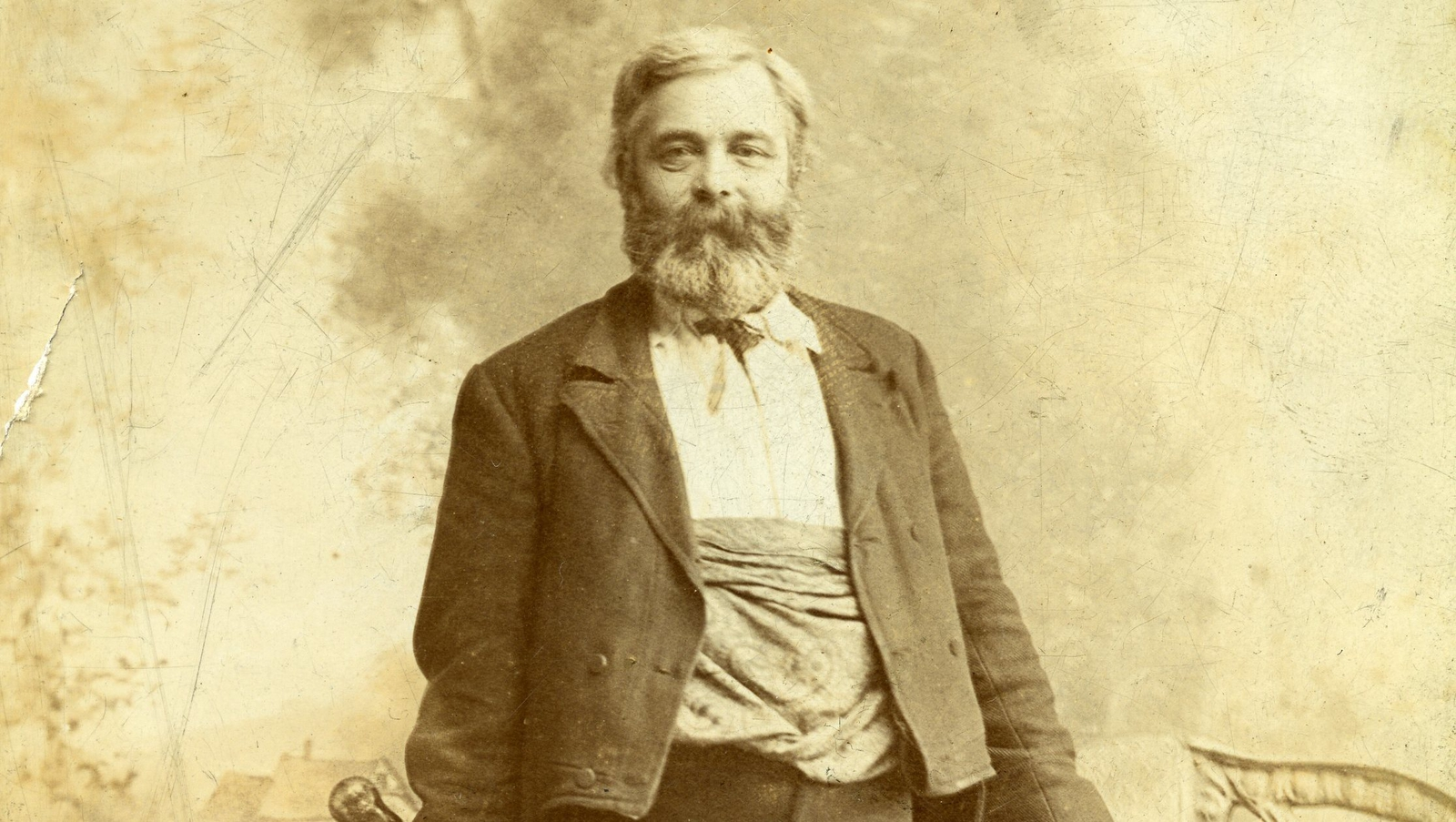 Image - Michael Cusack, the cricket-loving founder of the Gaelic Athletic (James Hardiman Library, NUIG)