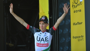 Martin claimed his third grand tour stage victory on day six of the 2018 Tour de France