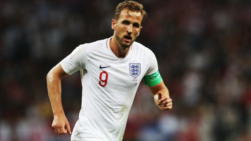 Harry Kane became just the third man to captain England in a global semi-final against Croatia