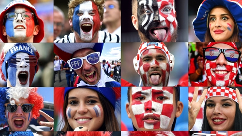 France and Croatia will contest the final