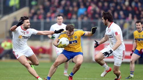 Action from the last competitive games between the counties in the 2017 Allianz League