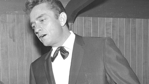Johnny Cash at the Crystal Ballroom, Dublin in 1963