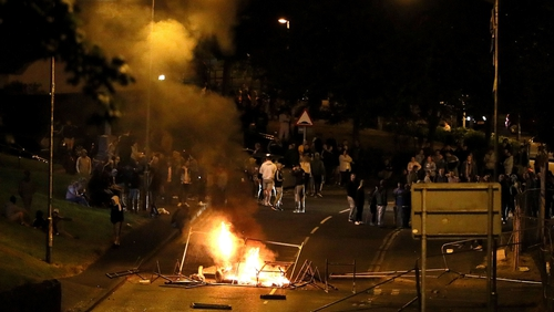There have been six consecutive nights of violence in Derry