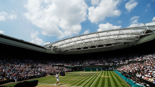 Wimbledon is the only tennis Grand Slam to take place on grass courts
