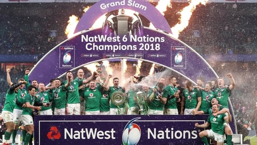 Ireland's Grand Slam victory has led to financial improvement for the IRFU