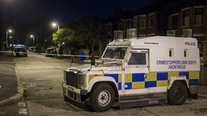 The PSNI said officers were 'dealing with two incidents at two separate addresses in west Belfast'