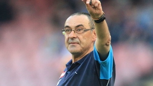 Maurizio Sarri impressed in a three-year stint with Napoli