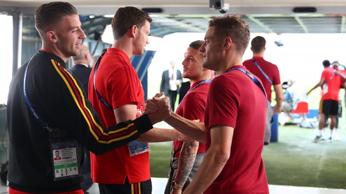 Belgium face England for the second time at the World Cup