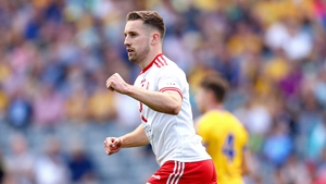 Niall Sludden scored the first goal for Tyrone