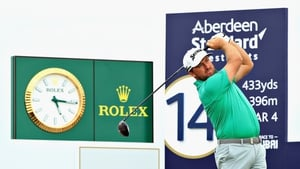 Graeme McDowell battled back with three birdies on the back nine but will not be in the mix on Sunday