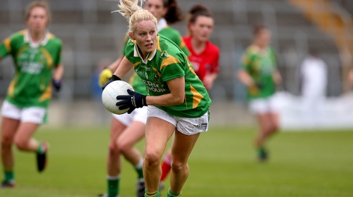 Bernie Breen playing for her native Kerry