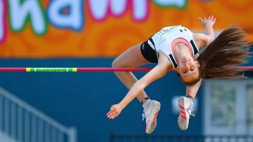 Sommer Lecky in action at the recent Commonwealth Games