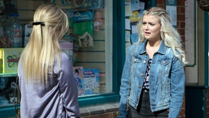 """Lucy Fallon - """"I don't think they should stop doing the dark storylines"""""""