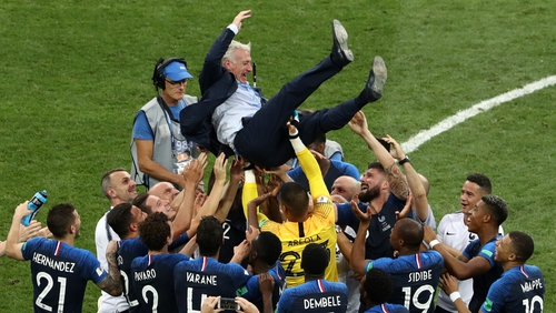 Didier Deschamps led France to only their second ever World Cup triumph