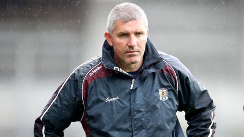 Galway Manager Kevin Walsh