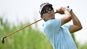 Michael Kim claimed victory at the John Deere Classic
