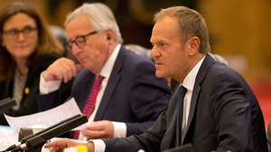 Donald Tusk and Jean-Claude Juncker were in Beijing for a meeting with senior Chinese officials