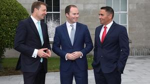 George Roberts (Head of UK & Ireland at Cushman & Wakefield), Steven McKenna (CEO of Sherry FitzGerald Group), Aidan Gavin (Head of Ireland, Cushman & Wakefield)