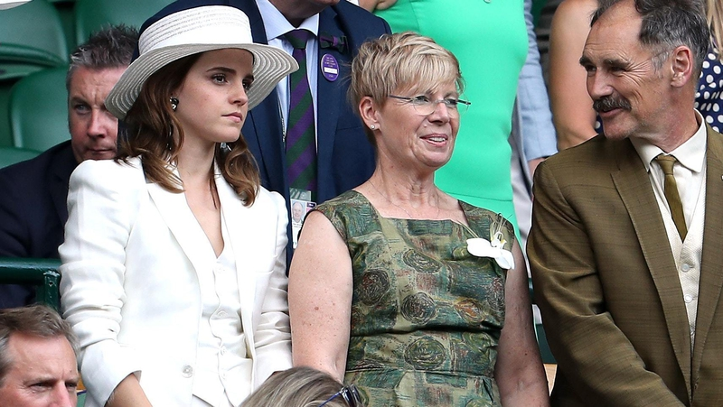 Watson Watches The Tennis With Claire Van Kampen Jonathan Brady PA