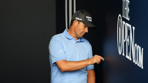 Padraig Harrington was the Open champion at the Scottish links in 2007