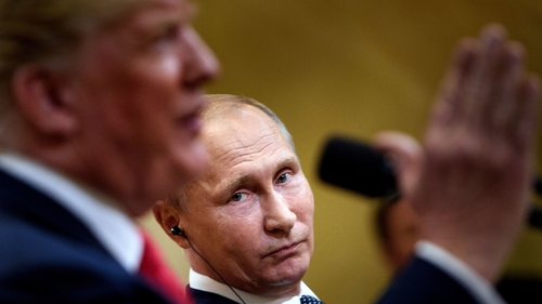 Donald Trump said the US probe into alleged Russian meddling is a disaster for his country