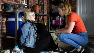 Kayla leaves a terrified Bethany bound and gagged on Coronation Street