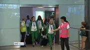 Nine News (Web): Emotional homecoming for successful Irish athletes