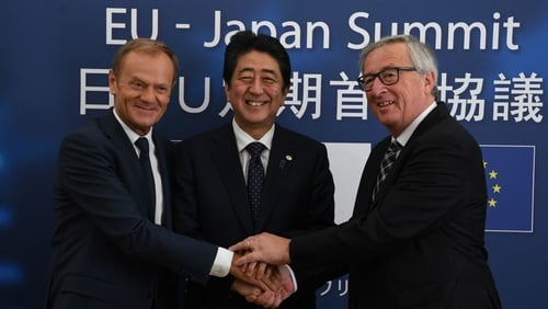 European Union and Japan to sign historic trade deal
