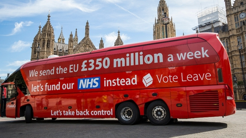 Vote Leave - the officially designated pro-Brexit campaign group - was found to have breached spending rules