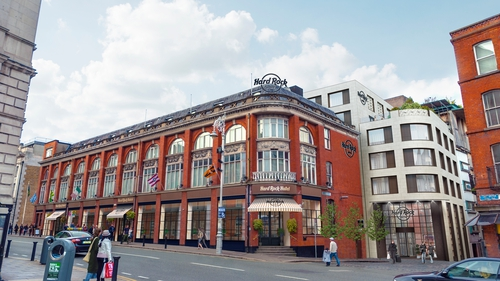Hard Rock International said it plans to open the new 120 bedroom hotel on Lord Edward Street in Dublin city centre