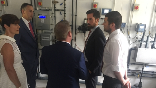 The upgraded plant was officially opened by Housing Minister Eoghan Murphy today