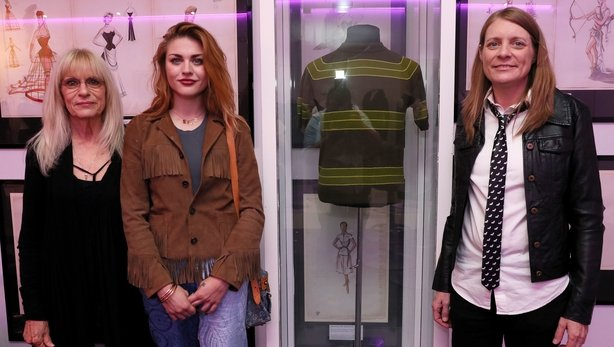 Kurt Cobain's family open rare collection in Newbridge