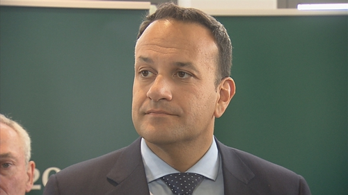Mr Varadkar said the vote 'shouldn't give us any reason to change our position' in Brexit negotiations