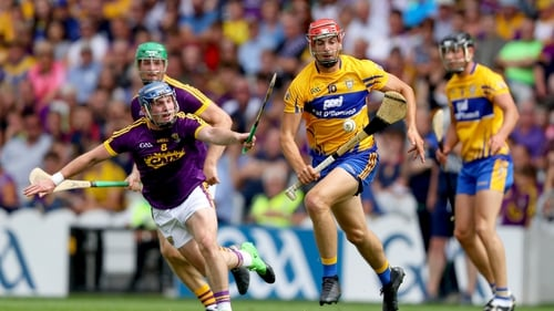 Peter Duggan was in top form for Clare
