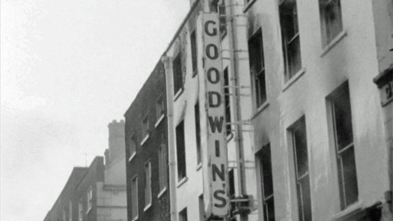 Fire at Goodwins in Limerick (1963)