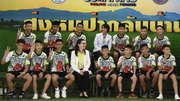 The 'Wild Boars' football team were discharged a day earlier than previously announced