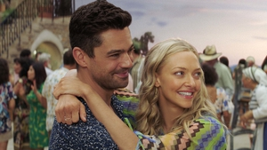 Dominic Cooper and Amanda Seyfried in Mamma Mia! Here We Go Again