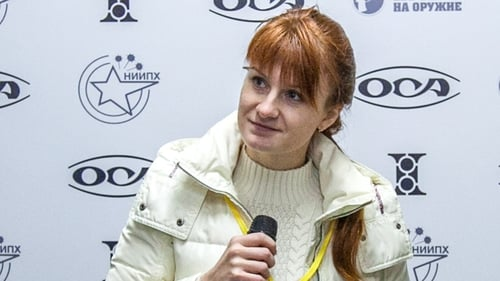 Russian 'agent' Maria Butina held in USA  jail over conspiracy charges