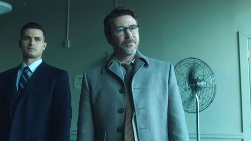 Aidan Gillen stars in the new History drama Project Blue Book