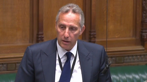 Ian Paisley Junior is currently serving a 30-day suspension from Westminster