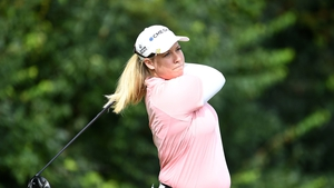 Brittany Lincicome carded a six-over 78 in the opening round of the Barbasol Championship.