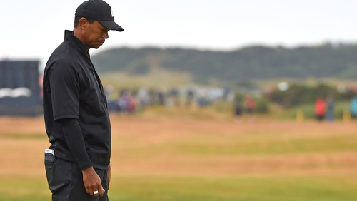 I had a hard time seeing my lines, says Tiger Woods