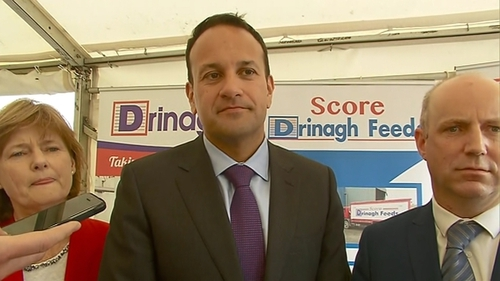 Leo Varadkar said there was no inconsistency between what Theresa May said about the backstop previously and today