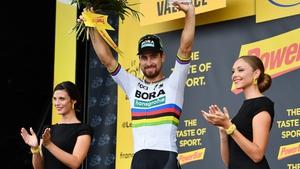 Sagan won his third stage of the Tour