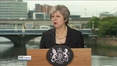 Six One News (Web): May insists hard border will never be acceptable