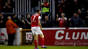St Pat's Conan Byrne celebrates his winner