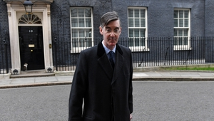 British Conservative Party hard-liner Jacob Rees-Mogg