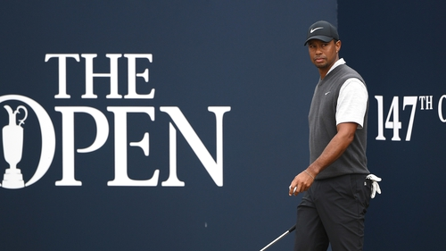 Tiger Woods was in contention right up until the final few holes of The Open
