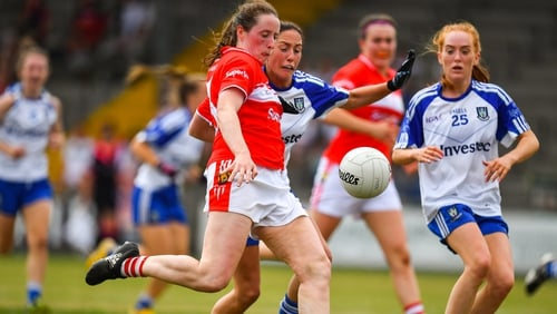 Cork had 16 points to spare against Monaghan.