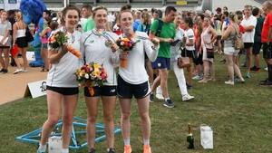 Eilidh Prise, Natalya Coyle,and Sive Brassil helped Ireland to silver at the European Championships in Székesfehérvár, Hungary.